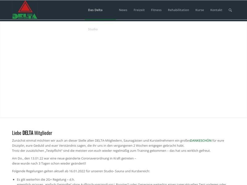 Screenshot von www.delta-studio-kuepper.de